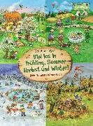 Cover-Bild zu Viel los in Frühling, Sommer, Herbst und Winter! von Loewe Naturkind (Hrsg.)