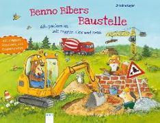 Cover-Bild zu Benno Bibers Baustelle. Alle packen an, mit Bagger, LKW und Kran von Kugler, Christine
