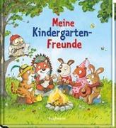 Cover-Bild zu Meine Kindergarten-Freunde von Kugler, Christine (Illustr.)