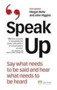 Cover-Bild zu Speak Up von Reitz, Megan