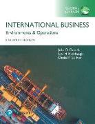 Cover-Bild zu International Business, Global Edition von Daniels, John