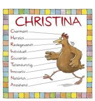 Cover-Bild zu Namenskalender Christina