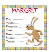 Cover-Bild zu Namenskalender Margrit