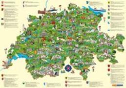 Cover-Bild zu Schweiz Kinderkarte. 1:0 von Hallwag Kümmerly+Frey AG (Hrsg.)