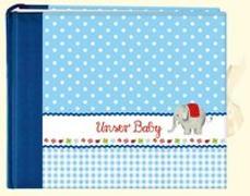 Cover-Bild zu Mußenbrock, Anne (Illustr.): Unser Baby (blau). Großes Foto-Eintragalbum