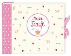 Cover-Bild zu Mußenbrock, Anne (Illustr.): Eintragalbum Meine Taufe, rosa