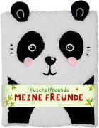 Cover-Bild zu Mußenbrock, Anne (Illustr.): Freundebuch - Kuschelfreunde - Meine Freunde (Panda)