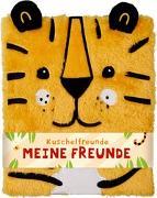 Cover-Bild zu Mußenbrock, Anne (Illustr.): Freundebuch - Kuschelfreunde - Meine Freunde (Tiger)