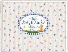 Cover-Bild zu Mußenbrock, Anne (Illustr.): Eintragalbum - Mein Baby- & Kinderalbum