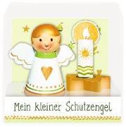 Cover-Bild zu Mußenbrock, Anne (Illustr.): Schutzengel mit Kerzenhalter - Mein kleiner Schutzengel