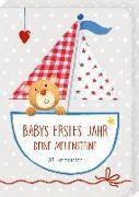 Cover-Bild zu Mußenbrock, Anne (Illustr.): Fotokarten-Box - BabyGlück - Babys erstes Jahr - Deine Meilensteine