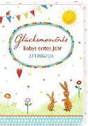 Cover-Bild zu Mußenbrock, Anne (Illustr.): Fotokarten-Box - Glücksmomente - Babys erstes Jahr