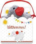 Cover-Bild zu Mußenbrock, Anne (Illustr.): Geschenkset - BabyGlück - Willkommen