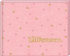Cover-Bild zu Mußenbrock, Anne (Illustr.): Babyalbum - BabyGlück - Willkommen. Rosa