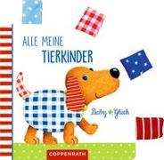 Cover-Bild zu Mußenbrock, Anne (Illustr.): Mein BabyGlück-Laschenbuch: Alle meine Tierkinder