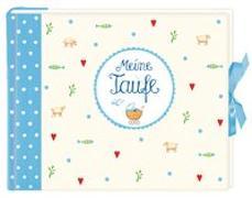 Cover-Bild zu Mußenbrock, Anne (Illustr.): Meine Taufe (hellblau)
