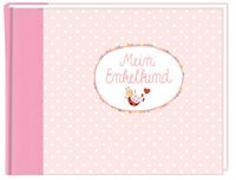 Cover-Bild zu Mußenbrock, Anne (Illustr.): Eintragalbum - BabyGlück - Mein Enkelkind (rosa)