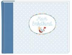 Cover-Bild zu Mußenbrock, Anne (Illustr.): Eintragalbum - BabyGlück - Mein Enkelkind (hellblau)
