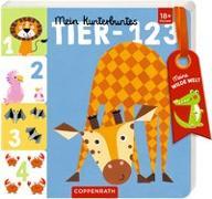 Cover-Bild zu Mußenbrock, Anne (Illustr.): Mein kunterbuntes Tier-123
