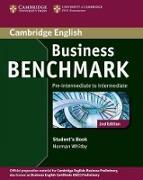 Cover-Bild zu Business Benchmark Pre-intermediate to Intermediate Business Preliminary Student's Book von Whitby, Norman