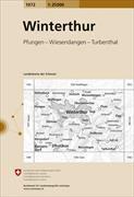 Cover-Bild zu Winterthur. 1:25'000