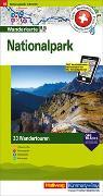 Cover-Bild zu Nationalpark Touren-Wanderkarte Nr. 16. 1:50'000 von Hallwag Kümmerly+Frey AG (Hrsg.)