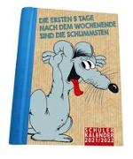 Cover-Bild zu Stein, Uli: Uli Stein - Schülerkalender 2021/2022 mit 12 Postkarten und 2 Stickerbögen