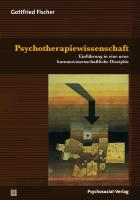Cover-Bild zu Psychotherapiewissenschaft von Fischer, Gottfried