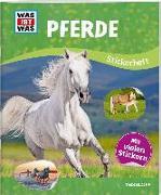 Cover-Bild zu WAS IST WAS Stickerheft Pferde