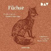 Cover-Bild zu Füchse. Ein Portrait (Audio Download) von Schumacher, Katrin