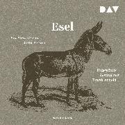 Cover-Bild zu Esel. Ein Portrait (Audio Download) von Person, Jutta