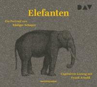 Cover-Bild zu Elefanten. Ein Portrait von Schaper, Rüdiger