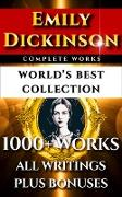 Cover-Bild zu Emily Dickinson Complete Works - World's Best Collection (eBook) von Dickinson, Emily