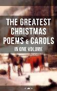 Cover-Bild zu The Greatest Christmas Poems & Carols in One Volume (Illustrated) (eBook) von Wordsworth, William