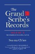 Cover-Bild zu Ch'ien, Ssu-ma: The Grand Scribe's Records, Volume X (eBook)