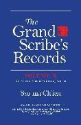 Cover-Bild zu Nienhauser, William H. (Übers.): The Grand Scribe's Records, Volume X: Volume X: The Memoirs of Han China, Part III