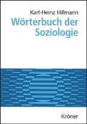 Cover-Bild zu Wörterbuch der Soziologie von Hillmann, Karl H