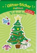 Cover-Bild zu Glitzer-Sticker-Malblock. Weihnachten