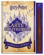 Cover-Bild zu Aus den Filmen zu Harry Potter: Die Karte des Rumtreibers - Eine Reise durch Hogwarts