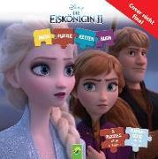 Cover-Bild zu Die Eiskönigin 2 - Puzzle-Ketten-Buch