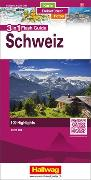 Cover-Bild zu Schweiz Flash Guide Strassenkarte 1:275 000. 1:275'000 von Hallwag Kümmerly+Frey AG (Hrsg.)