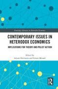 Cover-Bild zu Contemporary Issues in Heterodox Economics (eBook) von Hermann, Arturo (Hrsg.)