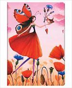 Cover-Bild zu Mila-Marquis-Kollektion. Mohnblumenfeld Midi liniert