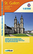 Cover-Bild zu St. Gallen und Umgebung. 1:12'500