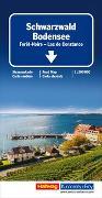 Cover-Bild zu Schwarzwald - Bodensee Regionalkarte. 1:200'000 von Hallwag Kümmerly+Frey AG (Hrsg.)