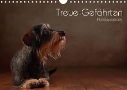 Cover-Bild zu Behr, Jana: Treue Gefährten - Hundeportraits (Wandkalender 2021 DIN A4 quer)