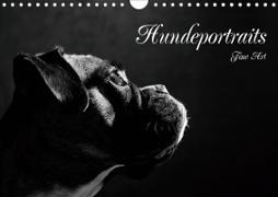 Cover-Bild zu Behr, Jana: Hundeportraits Fine Art (Wandkalender 2021 DIN A4 quer)