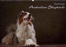 Cover-Bild zu Behr, Jana: Charmante Australian Shepherds (Wandkalender 2021 DIN A2 quer)