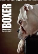 Cover-Bild zu Behr, Jana: Boxer - Charmante Charakterköpfe (Wandkalender 2021 DIN A2 hoch)