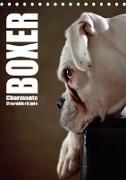 Cover-Bild zu Behr, Jana: Boxer - Charmante Charakterköpfe (Tischkalender 2021 DIN A5 hoch)
